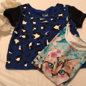 BUNDLE OF TWO GIRL'S TOPS